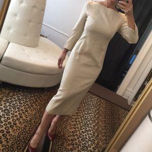 Prada ivory dress size 40